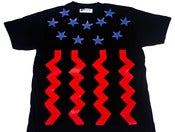Image of LIV WEALTHY GOD BLESS AMERIKA T-SHIRT