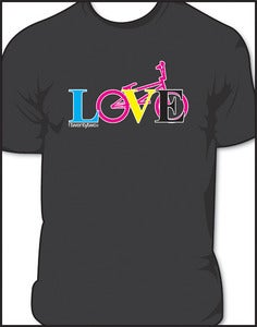 "Image of <b><br>LoveBMX ""cmyk"" </br></b> Mens crew neck."
