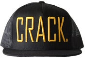 Image of CRACK Hat - Gold