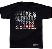 Image of Smoke and Mirrors Tee - Black