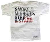 Image of Smoke and Mirrors Tee - White
