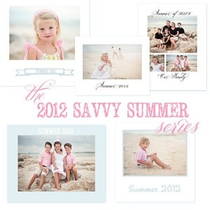 Image of The 2012 Savvy Summer Series {Print Templates}