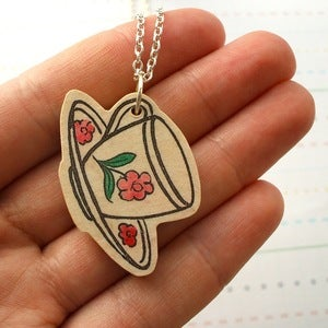 Image of Tea Cup Necklace