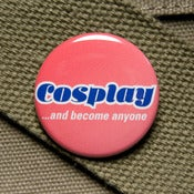 Image of Cosplay happiness button