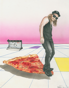 Image of Cool Kid On Pizza
