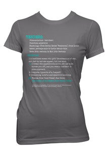 Image of TENDERS: Vocab Series T-shirt