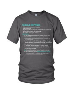 Image of JUNGLE BROTHER: Vocab Series T-Shirt