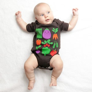 Image of Veggie Short Sleeve Organic Onesie/Tee