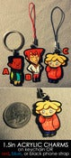 Image of CHARMS AND KEYCHAINS