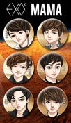 Image of EXO-K Button Set
