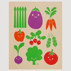 Image of Veggie Print