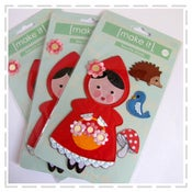 Image of Make It - Iron On Motifs - Red Riding Hood