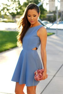 Image of Secret Periwinkle Dress