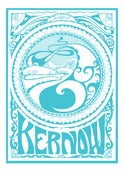 Image of Kernow Giclee Print - Blue