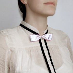 Image of CUTE BOW BROOCH <br>LFLECT REFLECTIVE