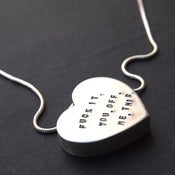 "Image of Necklace - My heart says... ""F**K IT. YOU. OFF. ME. THIS."""