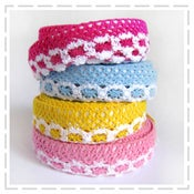 Image of Lacey Fabric Tape - bold colours