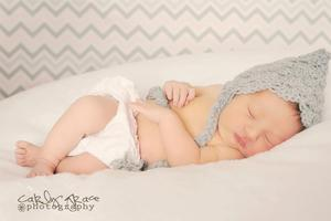 Image of Madison Pixie Bonnet in Grey Heather