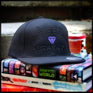 "Image of ""Diamond Crest"" Snapback (Special Edition Purple)"