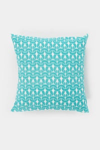 Image of Aqua Knit Knit Cushion