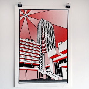 Image of Barbican Screen print