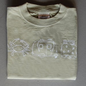Image of Summer Medley Children's Tee CELERY
