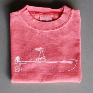 Image of Boat Ride Children's Tee SALMON