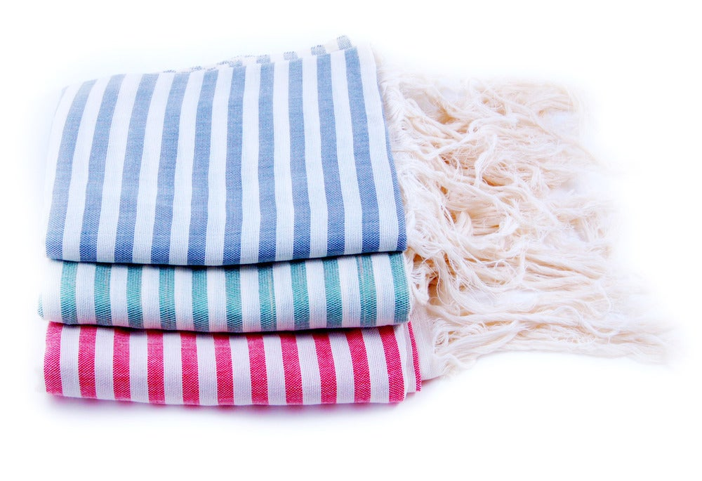 Image of Striped Hammam Towel