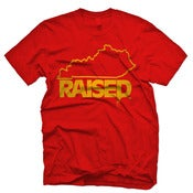 "Image of KY Raised ""Limited Edition"" in Red & Gold"