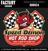 Image of Speed Demon Hot Rod Shop - SD002A