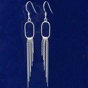 Silver Dangle Earrings_1135