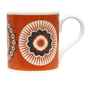 Image of Darjeeling Bone China Mug - Tangerine Dream