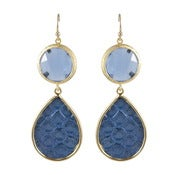 Image of Kimberly Earrings - Blue