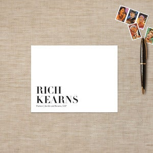 Image of Headliner Flat Note Cards