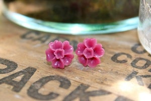 Image of The Brights // Flower Post Earrings