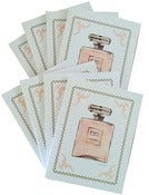 "Image of ""Perfume Love"" Note Card Set of 8"