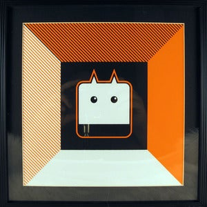 Image of Framed VALUCO Screen Print