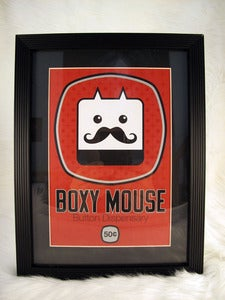 Image of Framed Vending Machine Screen Print #1