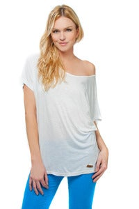 Image of Oversized Off Shoulder T