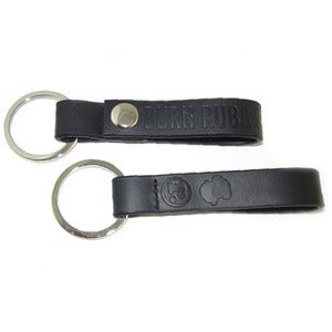 Image of Burn Rubber Belt Loop Keychain