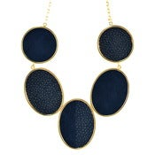 Image of Brianna Necklace - Navy