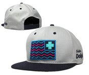 "Image of NEW! Pink Dolphins ""Nautical Flags"" Snapback Hat Collection"