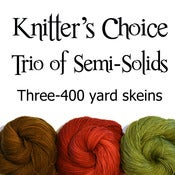 Image of Knitter's Choice Trio of Semi-Solids