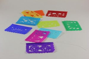 Image of Mini Papel Picado Banner