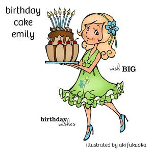 Image of Birthday Cake Emily