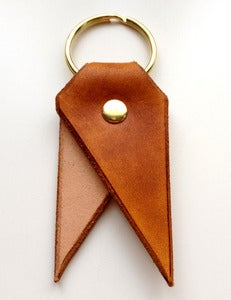 Image of Chestnut Bookmark Key Chain