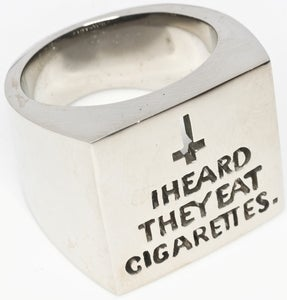 Image of Cigarettes  - White Bronze Ring