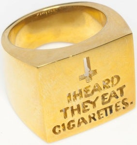 Image of Cigarettes - Brass Ring