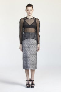 Image of AW12 - Distortion Pencil Skirt