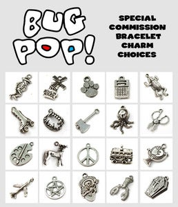 Image of Special Commission Charm Bracelet!